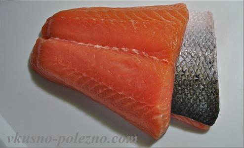 Новый рисунок 48 Тушеный лосось с имбирем и печеной картошкой