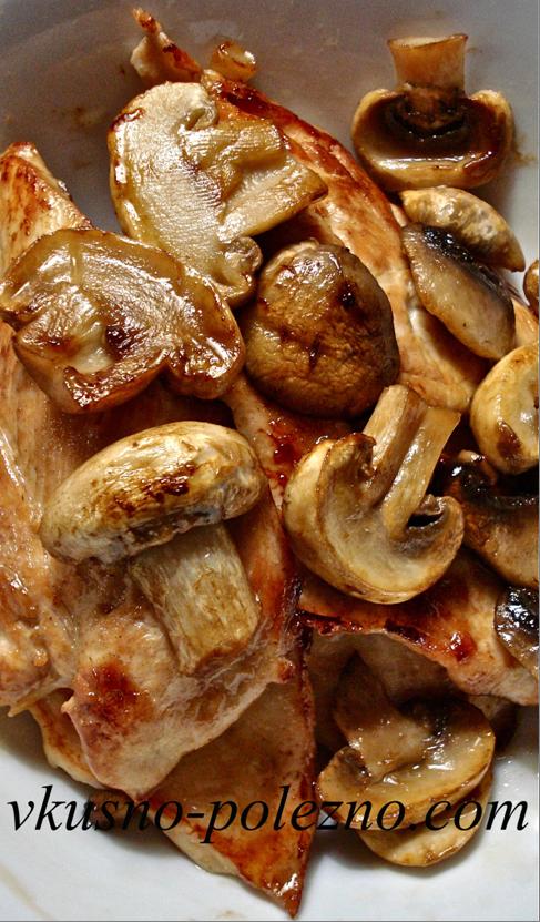 Рецепты с грибами обжаривать