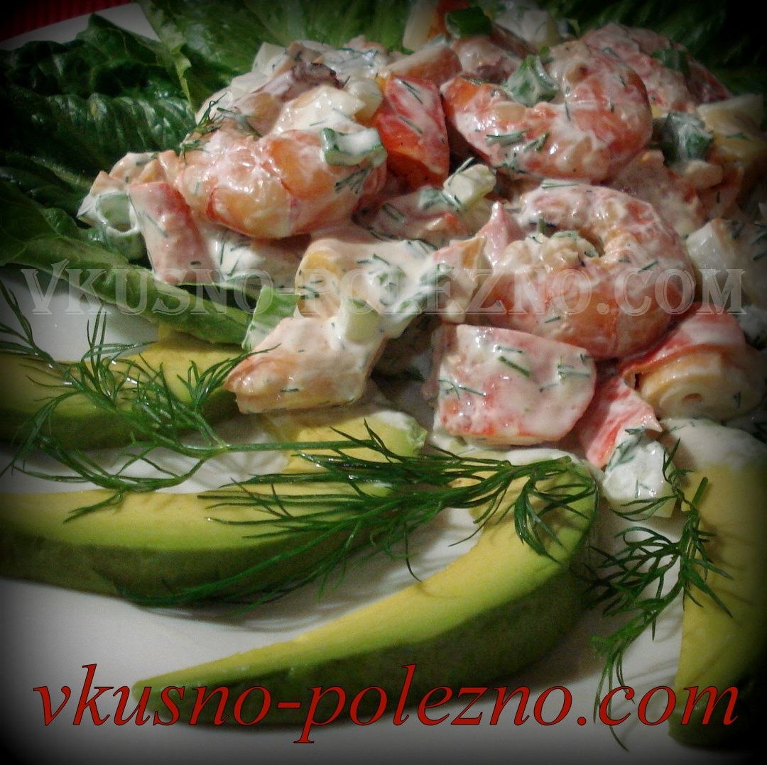 вторые блюда с креветками рецепты