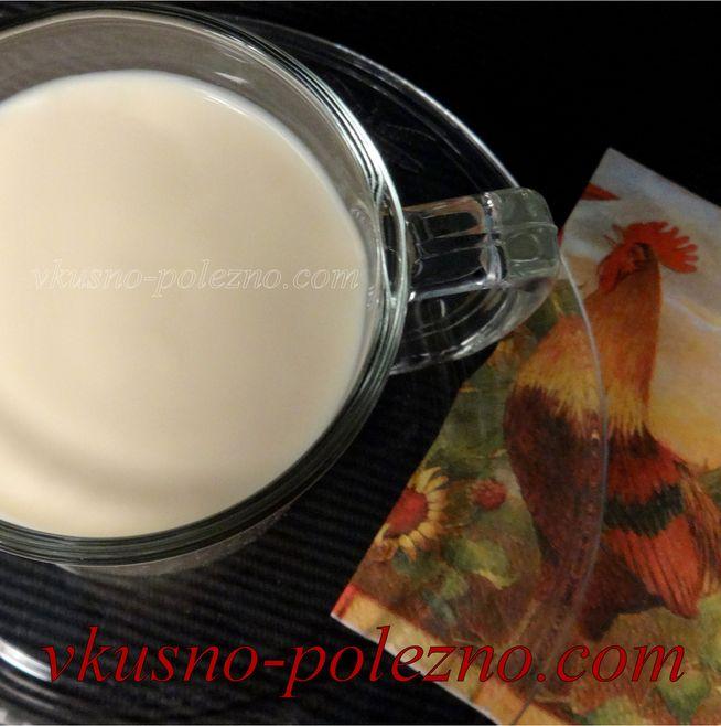 Домашняя ряженка - рецепт пошаговый с фото