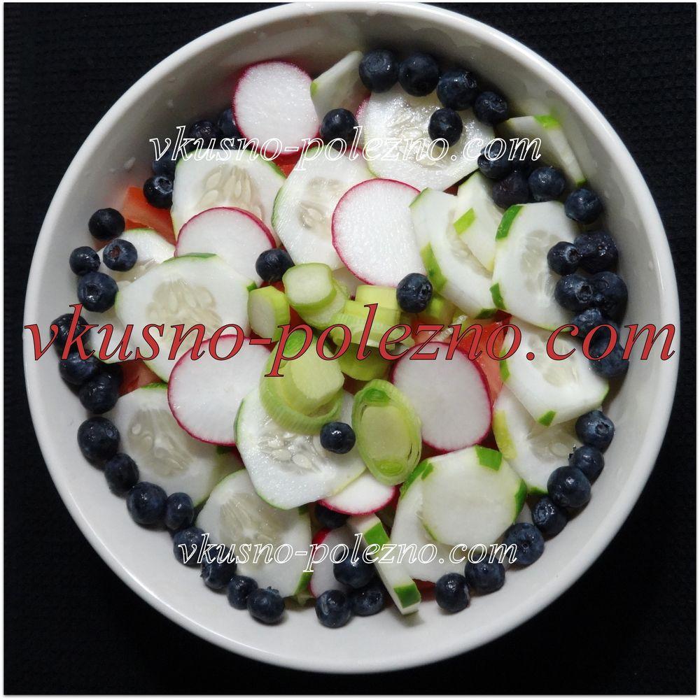Простые салаты с редиской рецепты 2