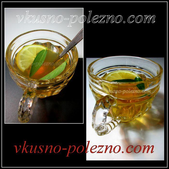 Шалфей применение как чай